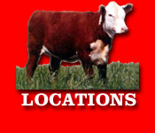 Gregory Polled Herefords - Locations